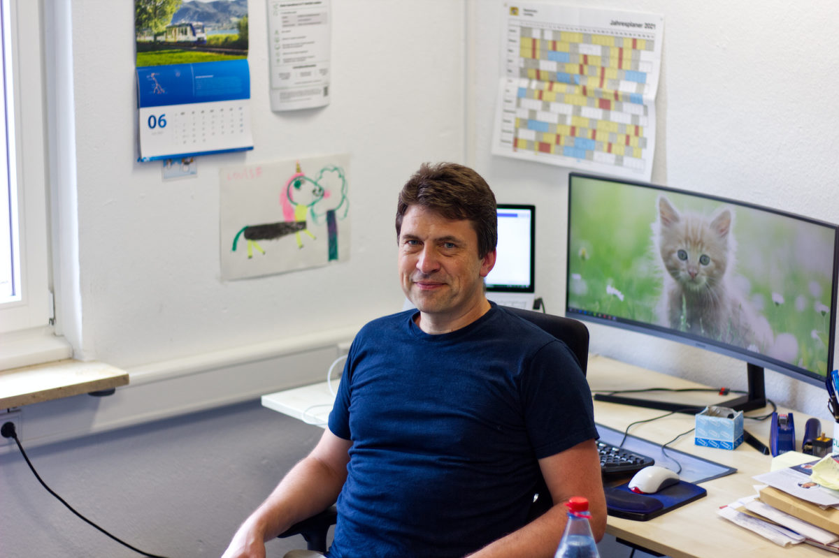 Unser Geschäftsführer Johannes Huber